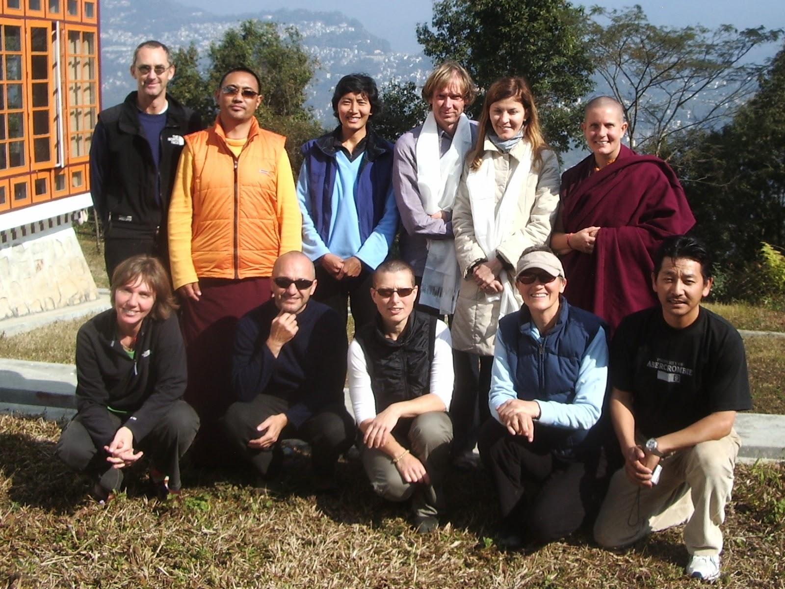 6) i ritiranti con Lama Sogha