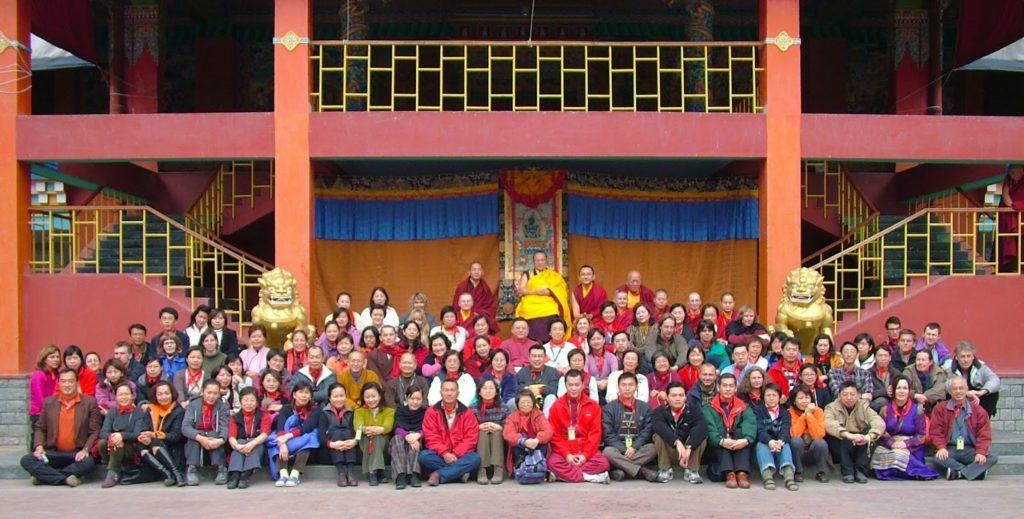 gruppo del primo corso di mahamudra