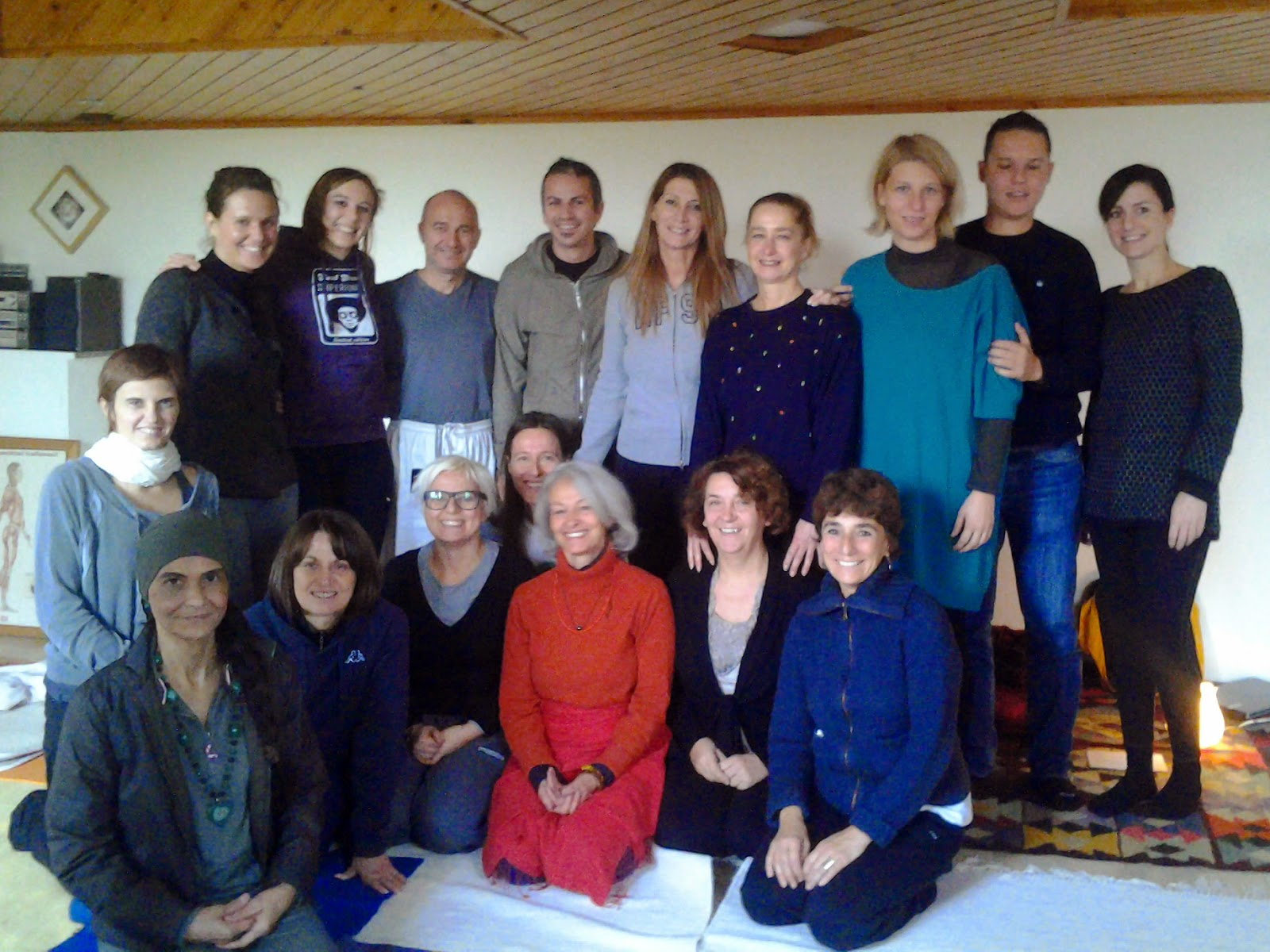 gruppo di meditazione al centro Sitatara (MI) 2013