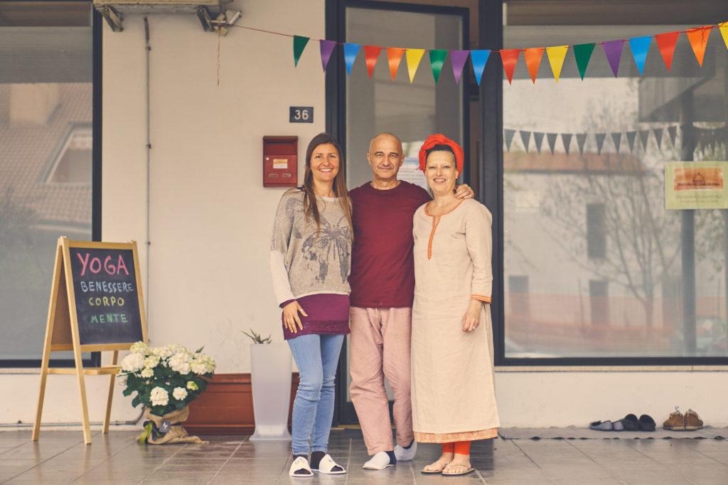 Carlo, Caroline ed Elisa