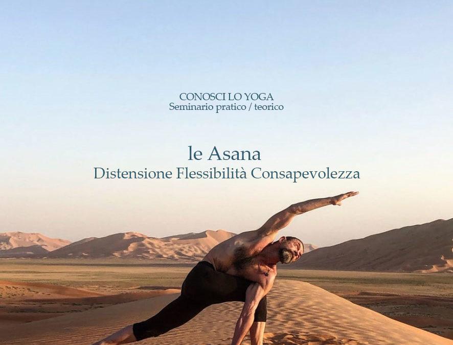 Le Asana:  Distensione Flessibilità Consapevolezza