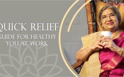 SOLLIEVO VELOCE, GUIDA PER LA TUA SALUTE AL LAVORO: insegnamenti di Dr. Hansaji Yogendra, direttrice del The Yoga Institute, Mumbai