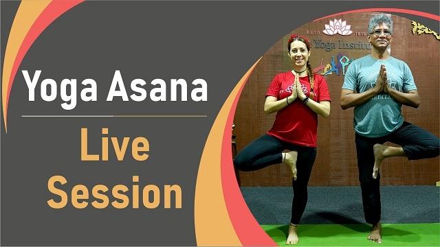 """YOGA-ASANA LIVE SESSIONS sessioni di yoga-asana con il maestro Ramendraji, presso il """"The Yoga Institute, Mumbai"""""""